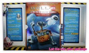 wall-e DVD packaging