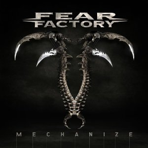 Fear Factory Mechanize CD Packaging