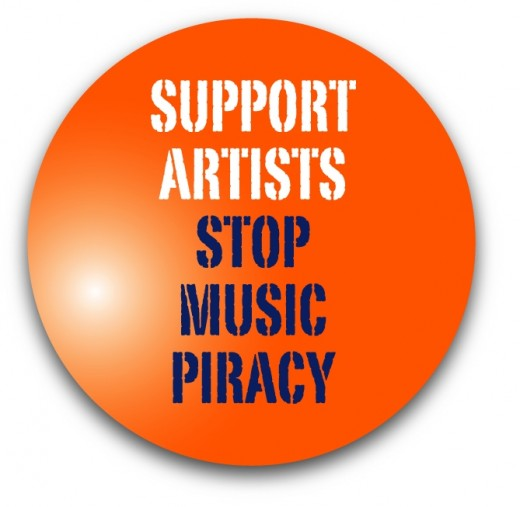anti piracy slogan