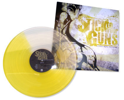 stick to your guns colored vinyl record