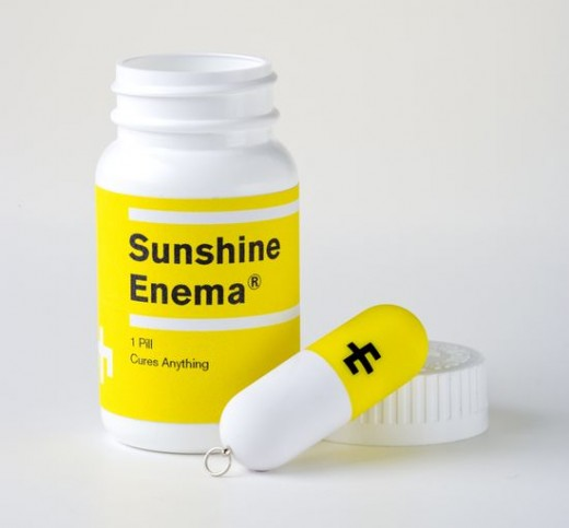 Sunshine Enema Music Packaging USB