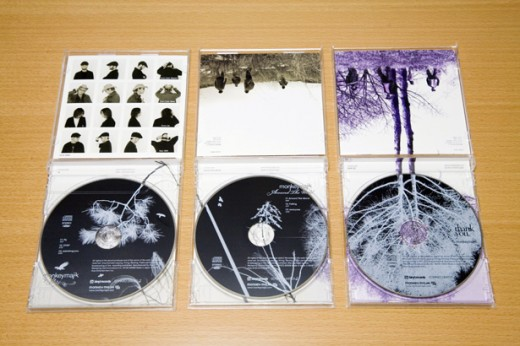 creative CD packaging set
