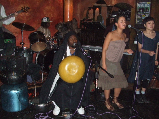 band concern stage gig