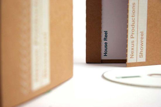 Cardboard DVD case
