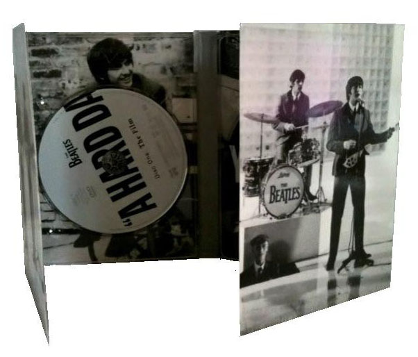 Beatles A Hard Days Night DVD Packaging