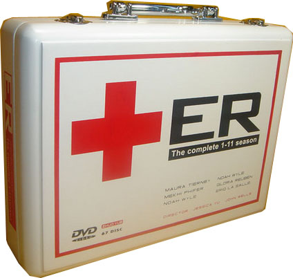 ER: Season 1-12 (73 DVD Box Set) DVD Packaging