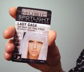 lady gaga drop card download music