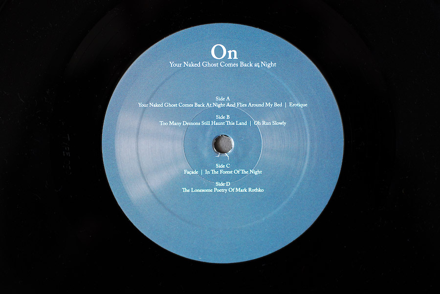 on Vinyl record