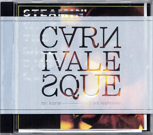 Carnivalesque CD packaging