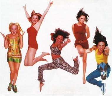 Spice-Girls-publicity and branding
