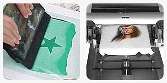 silkscreen printing process