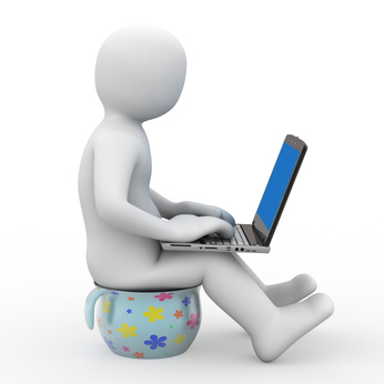 3d person and notebook
