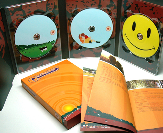 music packaging creative cd case set