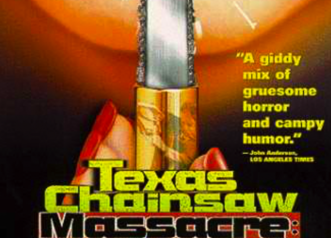 Texas chainsaw Massacre- DVD Packaging