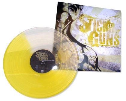 colored vinyl record design