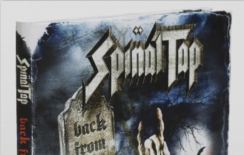Spinal Top-creative box sets/CD packaging