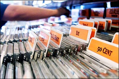 CD packaging album sales