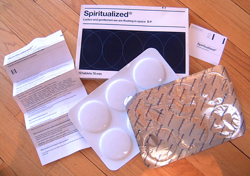 Ladies and Gentlemen Spiritualized CD foil pack