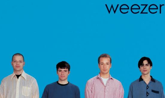 Weezer blue album artwork
