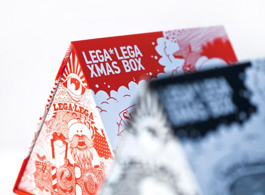 Lega Lega shirt packaging triangle box