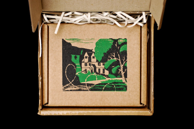 tyneham house cardboard cd packaging