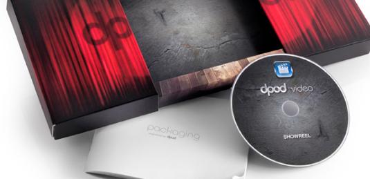 video showreel DVD packaging