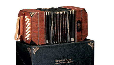 Buenos Aires accordion design DVD packaging box set