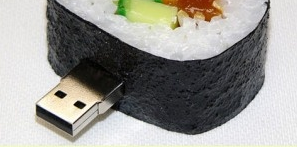 california roll USB flash drive