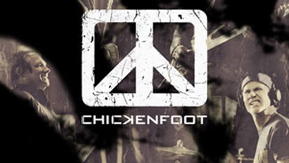 Chickenfoot Thermochromatic CD artwork