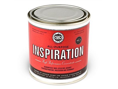 t-shirt packaging inspiration paint can