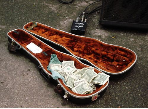 money-band-musician