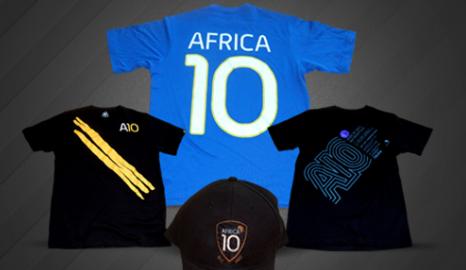 Africa 10 t-shirt