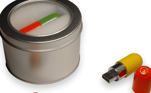 USB case tin can