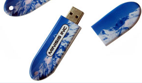 USB flash drive snowboard