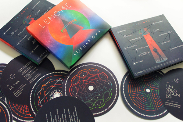 Lenoise supernova DVD packaging designs