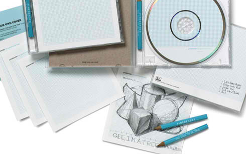 CD packaging and box set of Pinbender