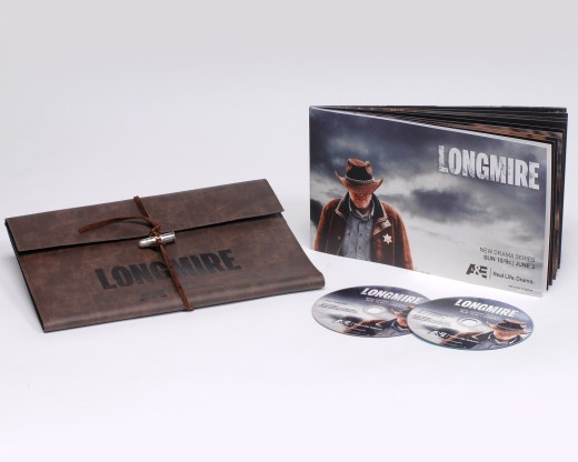 Longmire press kit DVD