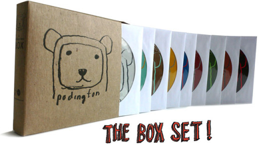 CD box set replication