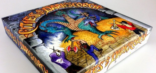 Cities of Darkscorch cd box packaging