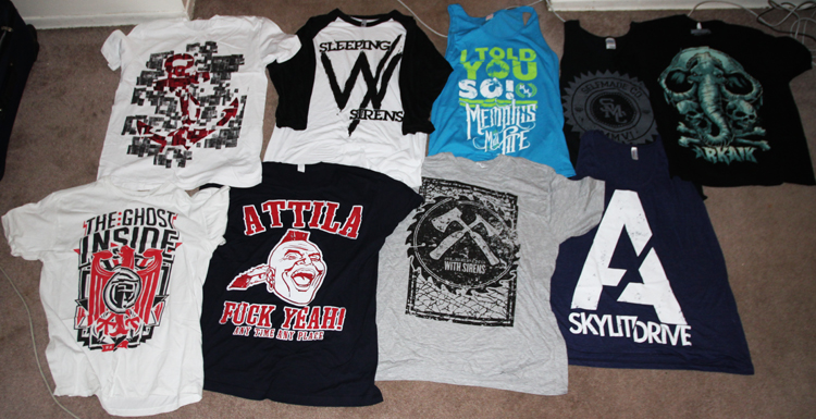 9 tips for designing band t shirts let me see your package