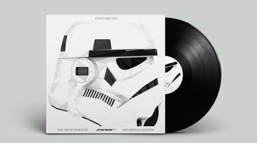 Star Wars Vinyl Record Soundtrack