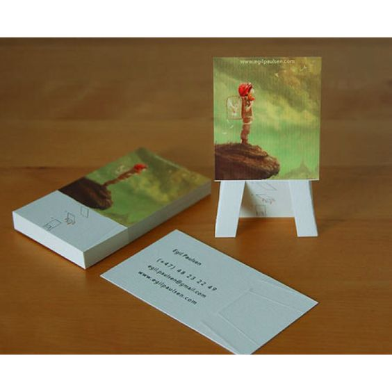 Creative Business Cards For Artists That Incorporate What