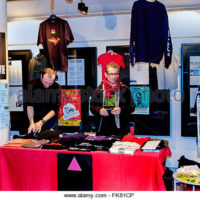 paris-france-aids-activists-of-act-up-paris-selling-merchandise-on-fk81cp