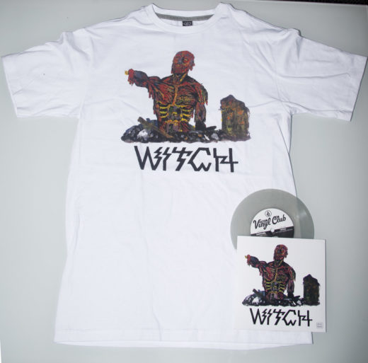 Witch vinyl shirt bundle merch