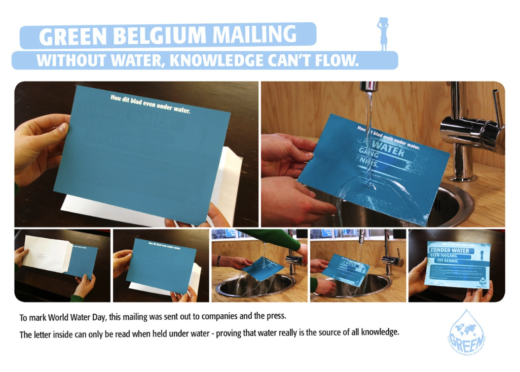 world water day mailer