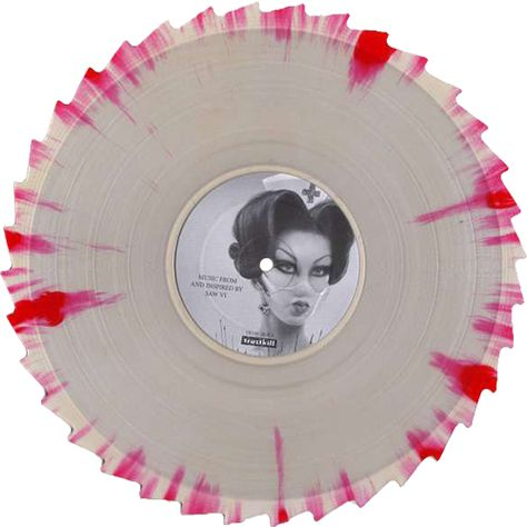 splattered vinyl- saw soundtrack