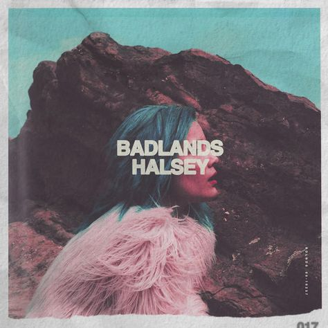 cd artwork- portrait- halsey