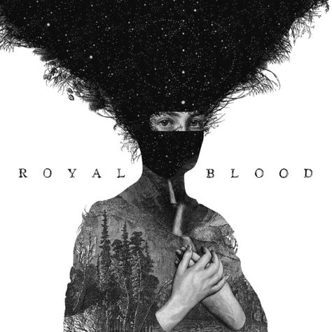 cd artwork- portrait royal blood