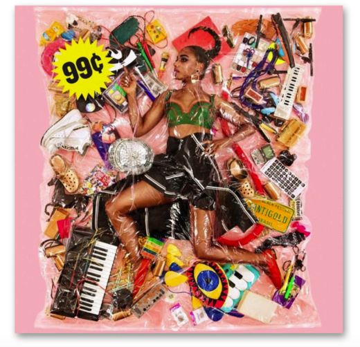 SANTIGOLD 99 CENTS CD ARTWORK