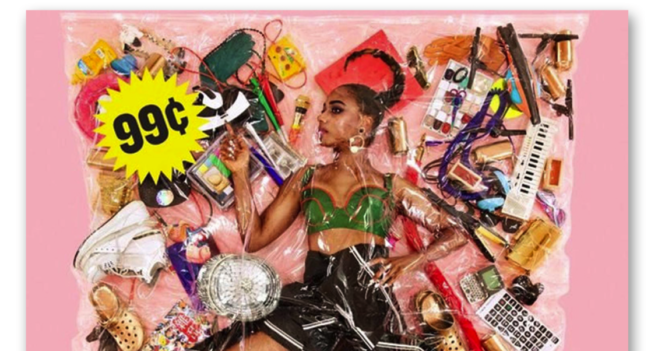 Santigold's 99 Cents album CD packaging case